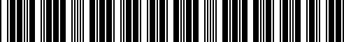 Barcode for 23418534689